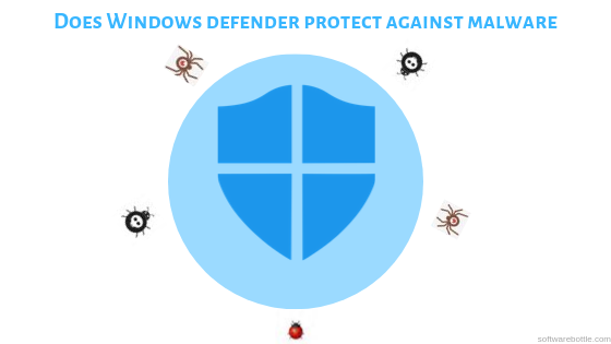 Does Windows defender protect against malware
