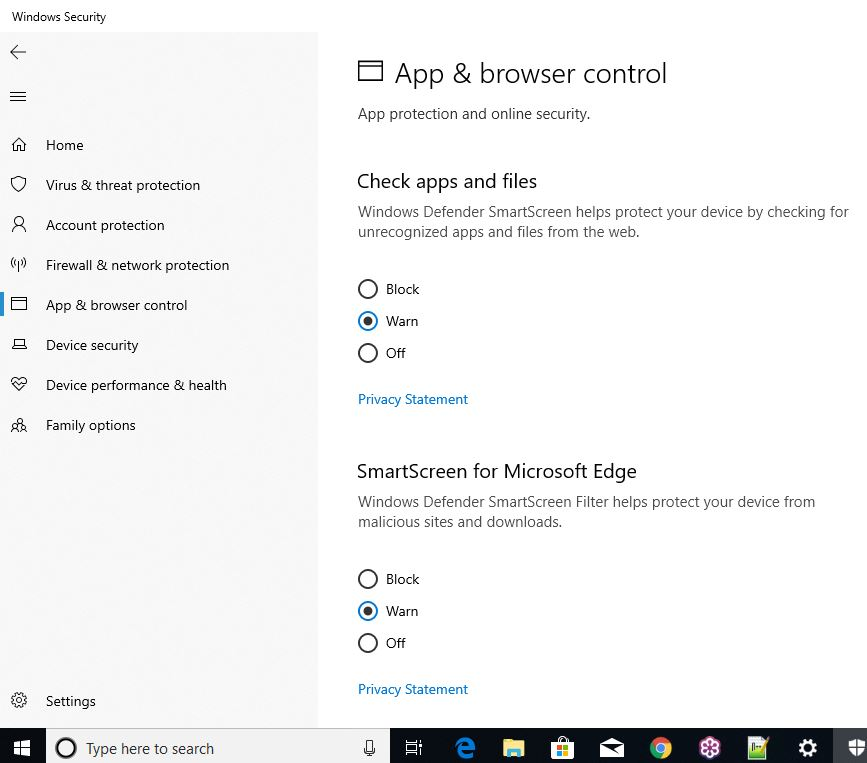 what is windows defender smartscreen