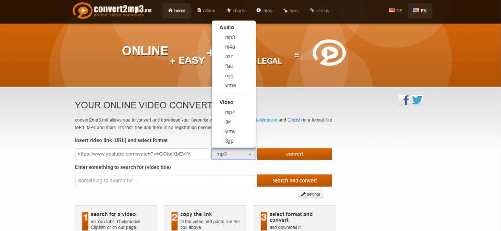 Download videos from convert2mp3 - SoftwareBottle