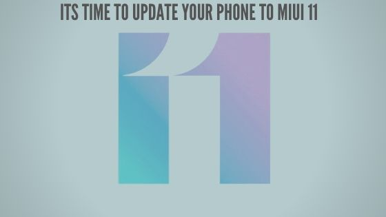 Stable MIUI 11 update getting rolled out for Redmi K20 in India