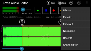 Lexis audio effects