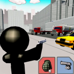 Stickman city shooting 3D - softwarebottle