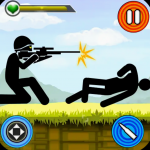 Stickman shooting gun game - softwarebottle