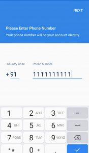 SMS organizer registration - softwarebottle