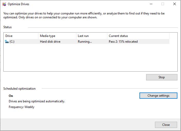 Windows 10 Defragmentation - softwarebottle