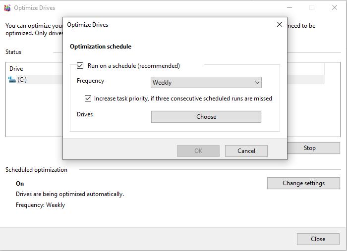 Windows 10 Scheduled optimization - softwarebottle