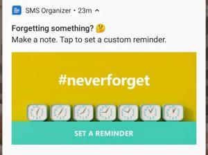 microsoft SMS organizer- notifications- softwarebottle