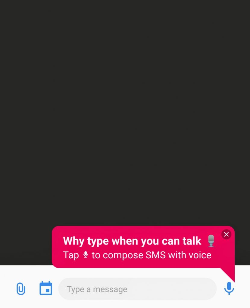 microsoft SMS organizer-voice typing-softwarebottle