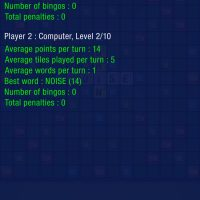 Crosscraze - game stats