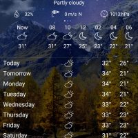 Weather live wallpaper - Forecast