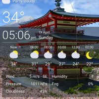 Weather live wallpapers by Sky sky